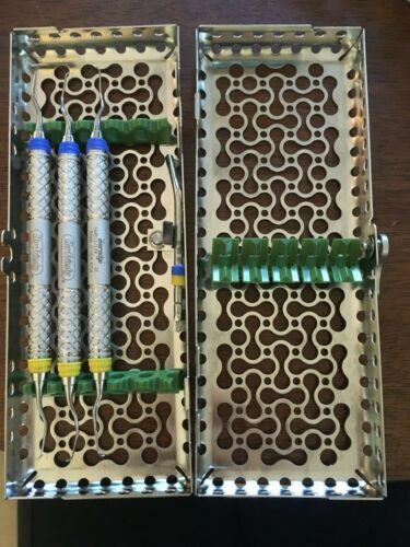 Hu- Friedy dental hygiene instruments: 3 Mini Gracey Curettes