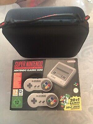Super Nintendo Classic Mini-SNES+ Custodia da Viaggio+1 prolunga per controller