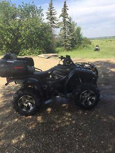 Honda 420ES quad
