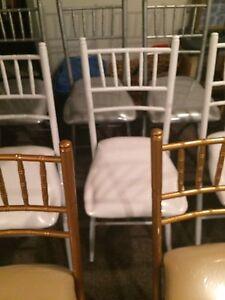 Beautiful Folding Chiavari Chairs for Rent  Cambridge Kitchener Area image 4