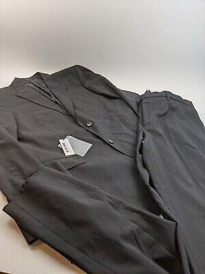 NEW Versace Collection Black Full Suit Sz 56 IT 46 US 40x37