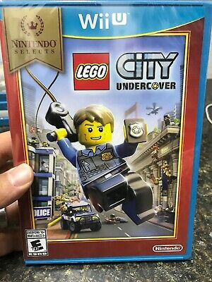 WiiU LEGO City Undercover Nintendo Selects (Nintendo Wii U, 2016) NEW, sealed