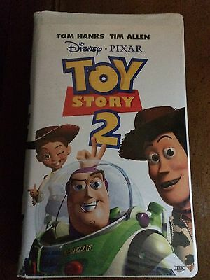 3 Disney Favorite VHS (Toy Story, Toy Story 2, Cat In The Hat)