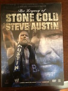 The Legacy of Stone Cold Steve Austin DVD New