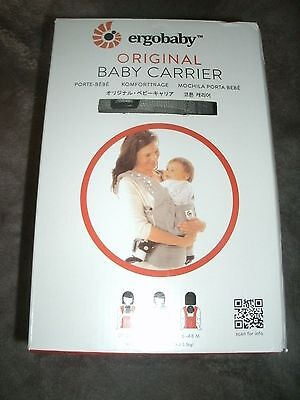 New in box Ergo Baby Carrier Original Galaxy Gray