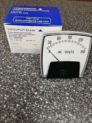 Yokogawa 250344pzpz Analog Ac Volt Meter 0-150 Vac