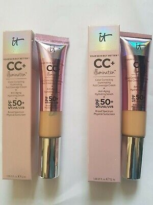 IT Cosmetics Your Skin But Better CC+ Illumination Cream SPF50 Light Medium 32ml