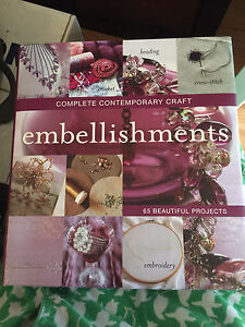 Complete Contemporary Craft: Embellishments Hard Cover