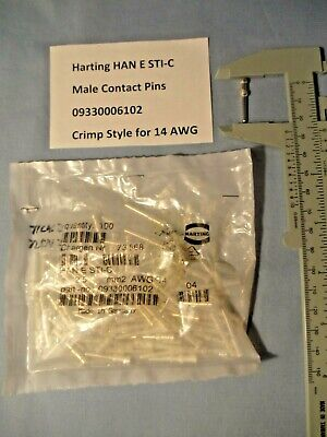 Harting Han 3A-gg-M20 Double Locking Lever Hood W//Q5//0-F Insert Lot of 7