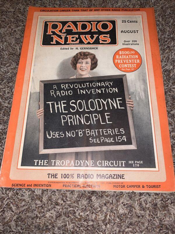 Radio News Magazine Aug 1924