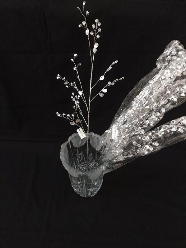 "Silver Jewel Picks by Valerie (6 picks) Decorative 27""L"