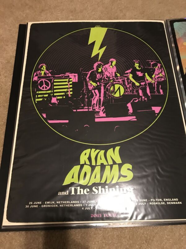Ryan Adams 2015 Tour Poster