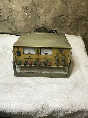 Tested Working Tenma 72-4045a Triple Output Dc Power Supply Meter 0-24 Vdc