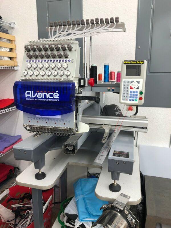 Avance Embroidery Machine 1501C
