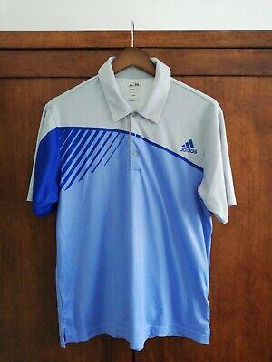 Adidas Golf Polo Shirt - Blue - Medium