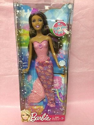2012 BARBIE ETHNIC- BATH PLAY FUN Where Fashion Meets Fairytale -MIB- NRFB