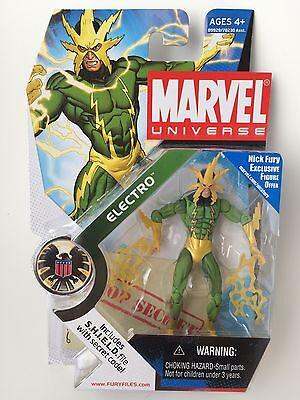 Marvel Universe * ELECTRO * Spiderman's Nemesis * 2010 * Hasbro