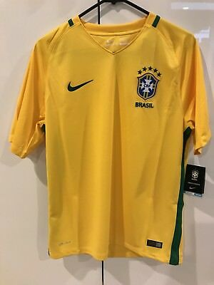 0ee8f467652 Nike Brazil National Team Authentic Jersey 724597 703 (L)