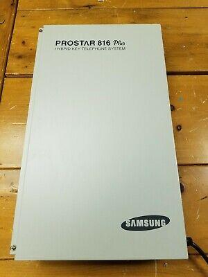 Samsung Prostar 816 Plus Hybrid Key Telephone System Ksu