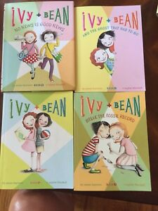Ivy and Bean book series 1-3 and #8