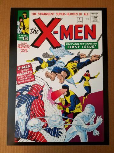 X-Men Vs Magneto 1 Marvel Comics Poster by Jack Kirby