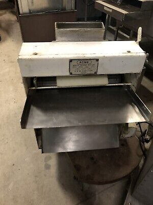 Bench Dough Roller Sheeter Acme R-11 Nsf 9463 Commercial Pizza Pie Bread Nsf