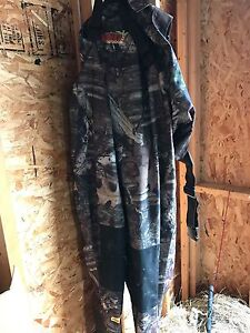 Rubber camo chest waders in good shape only used a few times