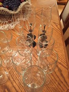 WINE/WATER GOBLETS ++