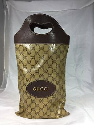 Gently Used Authentic Vintage Gucci Wine Tote Handbag