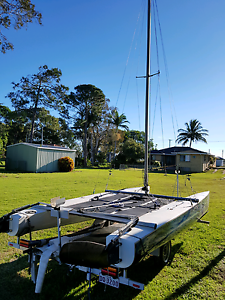 Catamaran and trailer Bongaree Caboolture Area Preview