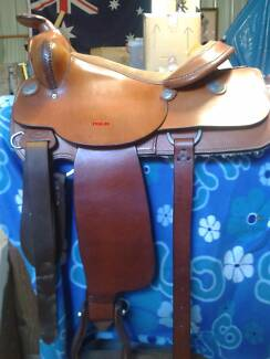 Assorted Saddlery all unused apart from the saddle.