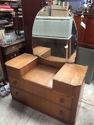 Vintage Old Retro Dressing Table  Paint Project   31/8/F