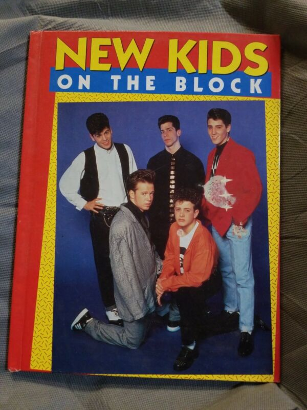 Vintage 1990 New Kids On The Block Hardcover Book