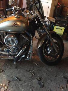 1100 Yamaha v-star