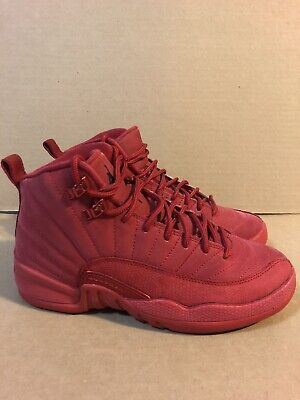 Air Jordan 12 XII Retro Youth PS Varsity Red Size 4Y Shoes