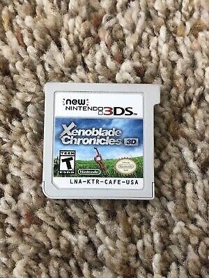XENOBLADE CHRONICLES 3D - NINTENDO 3DS , RARE