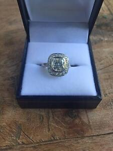 Art Deco 18ct Diamond Engagement Ring by Esola (Cottesloe) Subiaco Subiaco Area Preview