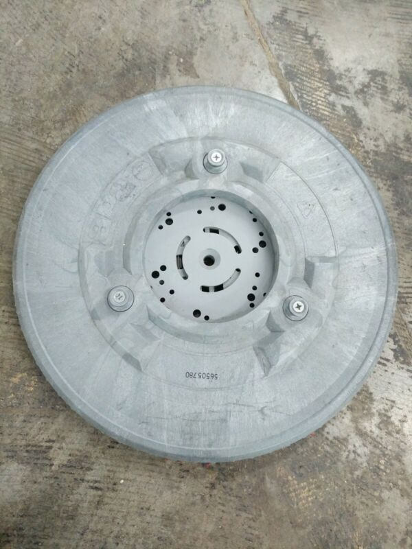 """Advance 56505780 Pad Holder / Driver 16"""" Block For 17"""" Machines With 3 Lug Drive"""
