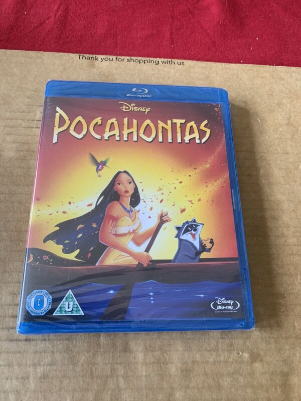 POCAHONTAS+BLU+RAY+NEW+AND+SEALED+Disney+Classic+%2333