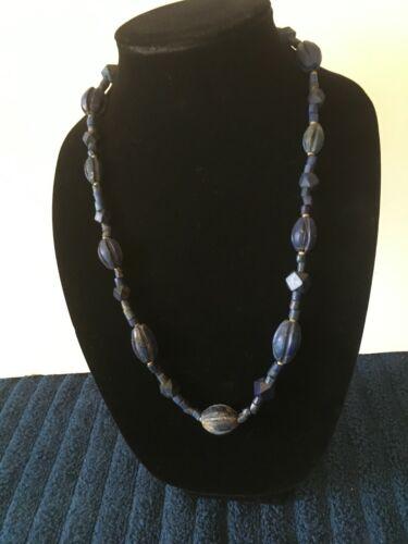 Sumerian Lapis Lazuli Necklace