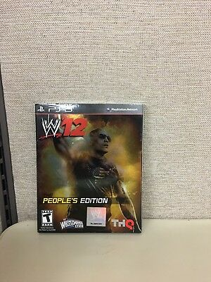 Used, WWE 2012 THE PEOPLE'S EDITION FOR PS3 BRAND NEW AND SEALED for sale  Shipping to India