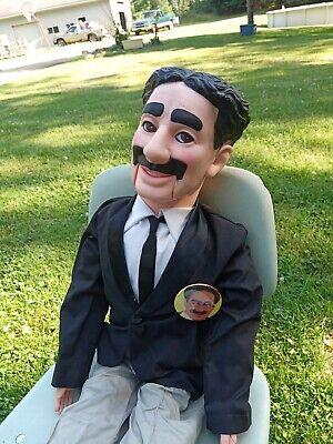 "EEGEE Groucho Marx Ventriloquist Dummy Doll Puppet 30"" 1980's"
