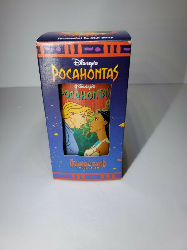 Disney Pocahontas Collector Series Burger King Cups Pocahontas And John Smith 94