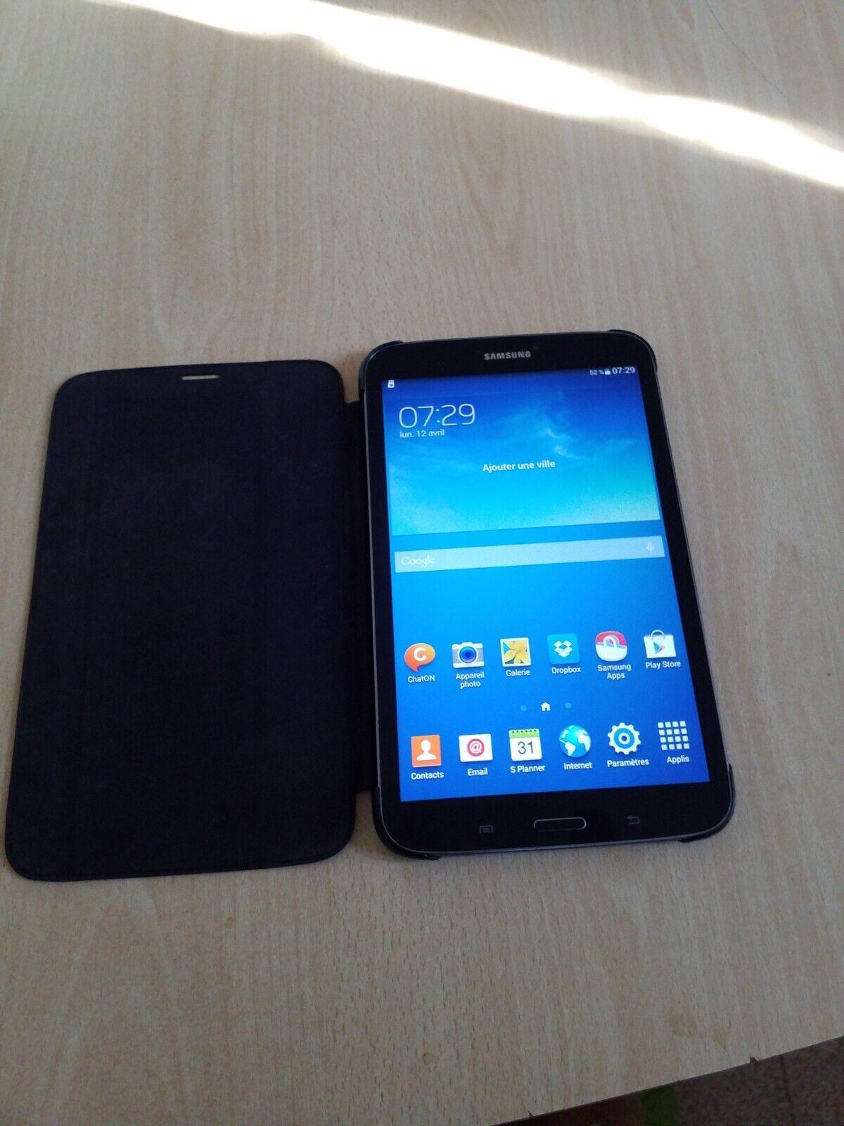 Tablette samsung galaxy tab 3 16go+ 32go de carte mémoire