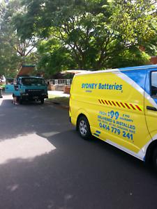 Batteries +Roadside assistance