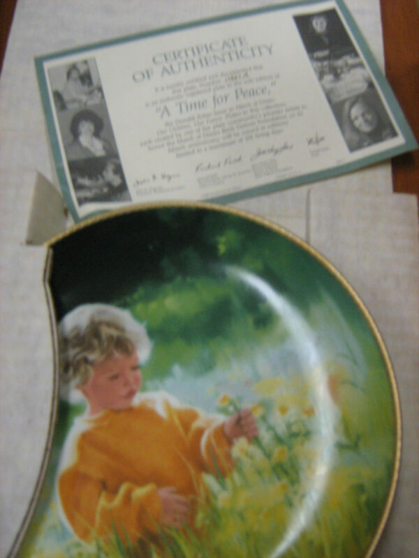 ZOLAN MARCH OF DIMES Collector Plate original box