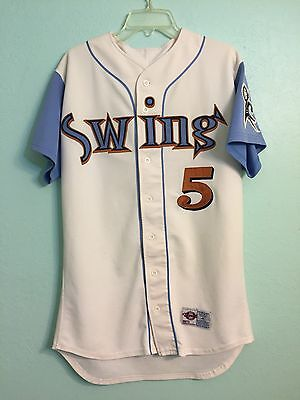 2004 Swing of Quad City (Iowa) St. Louis Cardinals Minor League Game Used Jersey