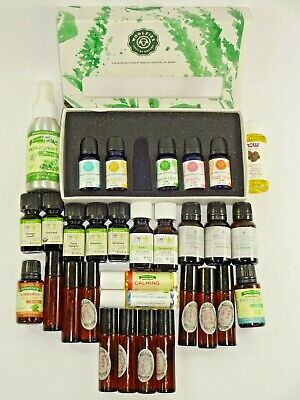 Essential Oils Large Lot Woolzies Aura Cacia Measured Difference Nature's -