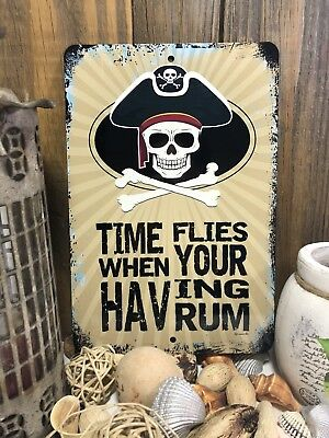 Restaurant Decor - Pirate Sign - Restaurant Sign - Man Cave Decor - Home Decor - Metal Bar Sign