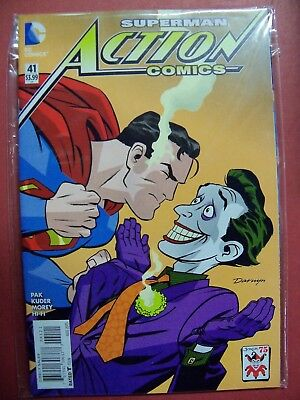 SUPERMAN ACTION COMICS #41 JOKER 75 YEARS VARIANT COVER (9.4 Or Better)